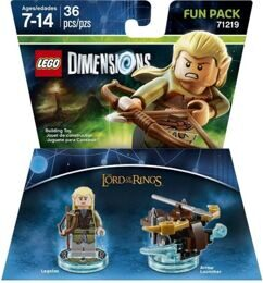 Dimensions Fun Pack: Леголас Legolas