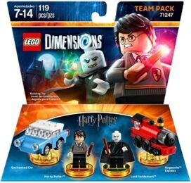 Dimensions Team Pack: HARRY POTTER